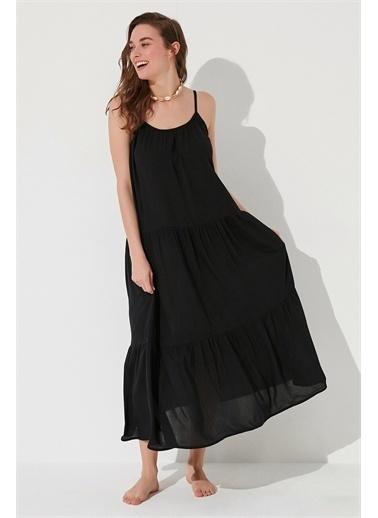 Penti Plaj Elbisesi Siyah